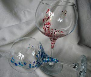 Arte en Cristal Cóctel Ártico