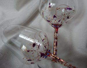 Arte en Cristal Vino Fantasía