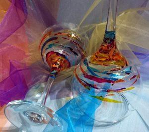 Arte en Cristal copa Cóctel Fantasía