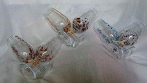 Arte en Cristal copas Catavinos Fantasía y Triana