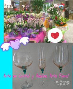 Arte en Cristal y Adelina Arte Floral