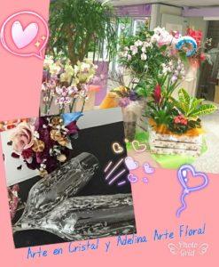 Arte en Cristal y Adelina Arte Floral_