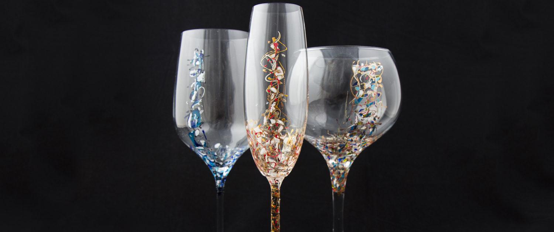 Bienvenidos a arte en cristal arte en cristal for Copas decoradas a mano