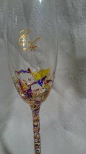 Copa Flauta Modelo Fantasía