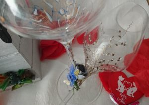 Copa Vino Trepadora San Valentín