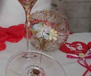 Copa Vinos Ártico y Fantasía San Valentín regalo