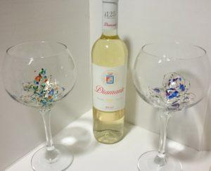 Modelo Ártico personalizado copa vino