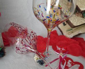 Copas Vinos Ártico y Fantasía San Valentín