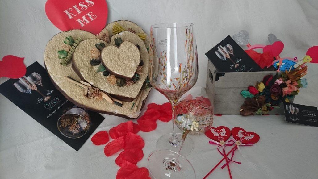 Copas Vinos Brooklyn y Arrecife San Valentín