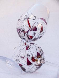 Copas de Vino Modelo Fantasía