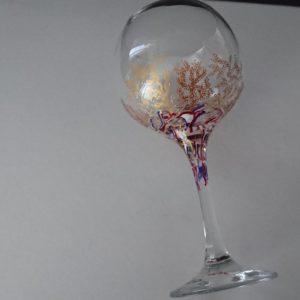 Copla Cóctel Modelo Coral con Fantasía americanos