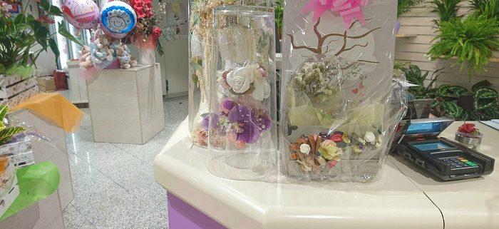 Exposición Arte en Cristal - Adelina Arte Floral - El Corte Inglés