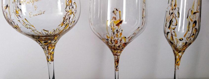Modelo Arrecife copas Flauta - Vino - Cóctel