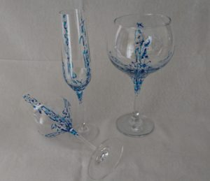 Modelo Arrecife copas vino, flauta y cóctel