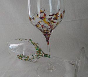 Modelo Arrecife y Fantasía copa vino