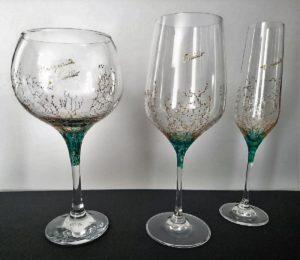 Modelo Coral copas Flauta - Vino - Cóctel
