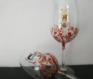Modelo Fantasía Copas Vino logos