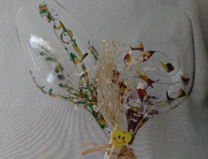 Modelo Fantasía y Arrecife copa vino