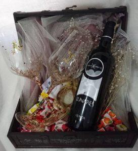 Modelo Tepadora regalo vino