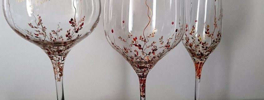 Modelo Trepadora copas Flauta - Vino - Cóctel