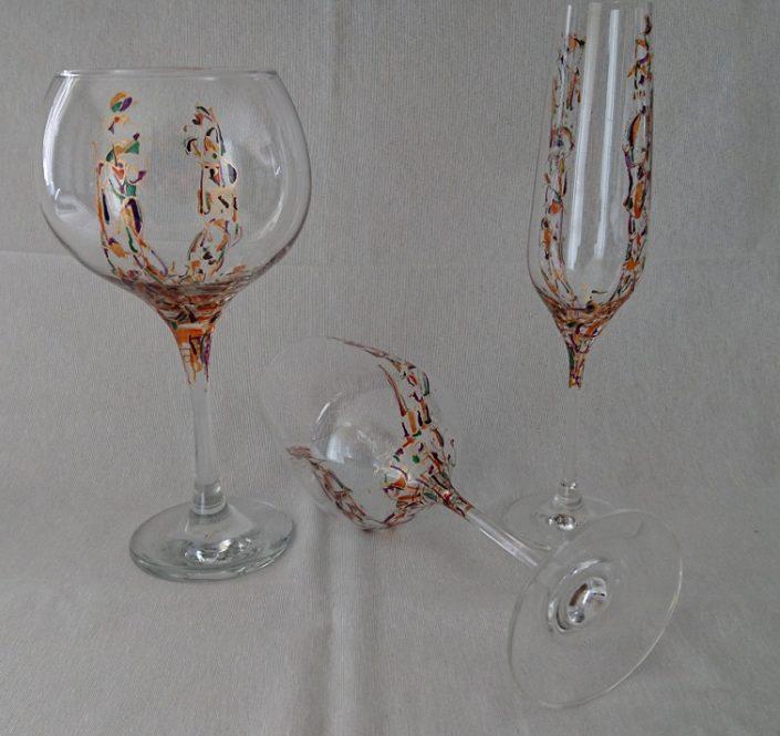 Modelo Triana copas, Vino Flauta y Cóctel