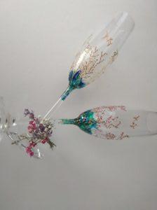 Modelo copa flauta Coral
