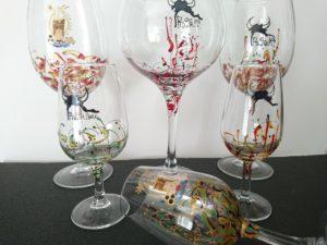 Modelos Ártico y Fantasía varias copas logos