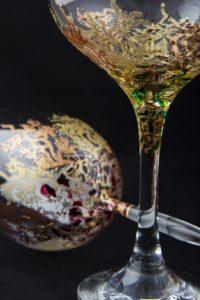 Modelos Coral vino y cóctel