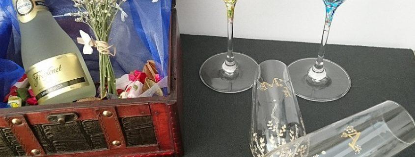 Modelos Trepadora y Triana flauta y vino