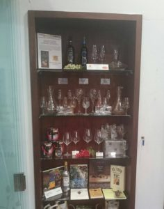 Museo del Vino Málaga varios modelos listo expositor