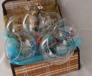 Regalo Arte en Cristal Cóctel