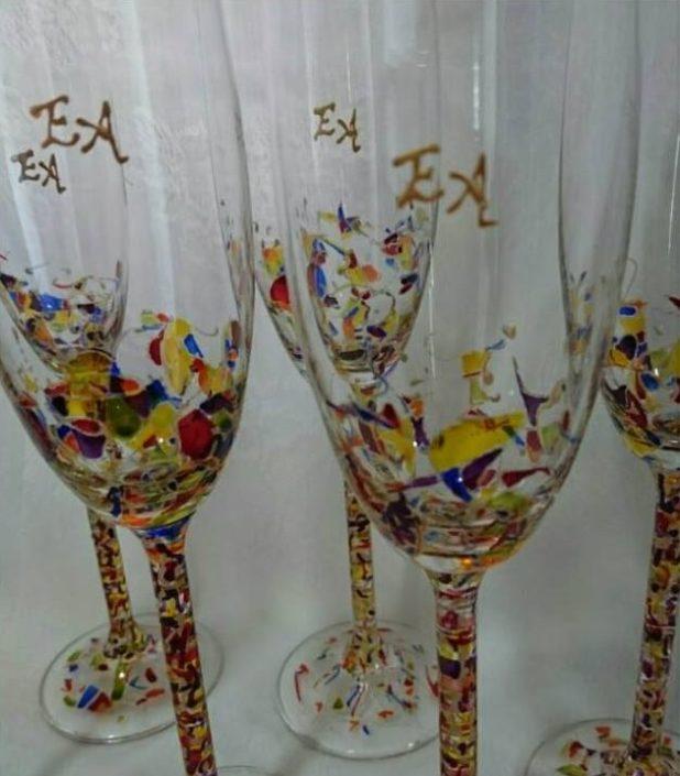 Regalo Copas Modelo Fantasía Flauta