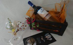 Regalo Modelo Fantasía y Arrecife copas vino