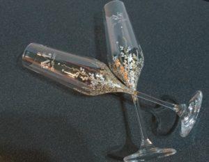 Trepadora Modelo en copas de flauta