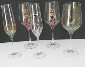 Varios Modelos copas vino y Flauta Logo