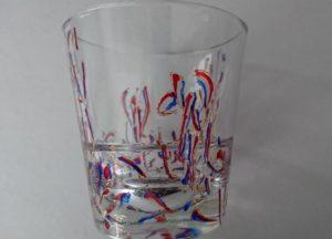 Vaso Whisky Modelo Arrecife americanos bandera