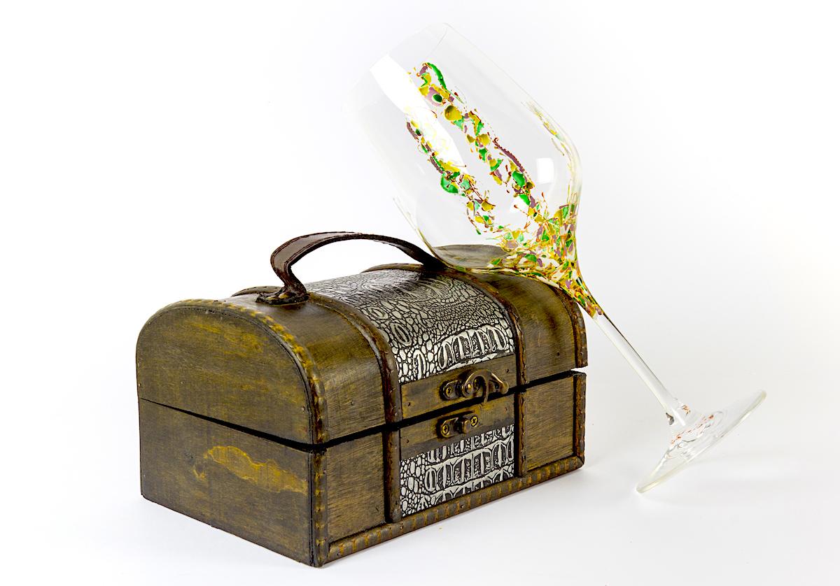 Copa de vino Arrecife con baúl