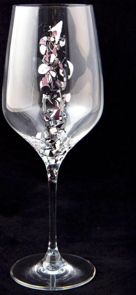Entrada con muchas fotos arte en cristal for Copas decoradas a mano