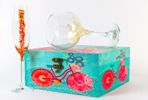 Copa Trepadora con Triana en caja para regalo